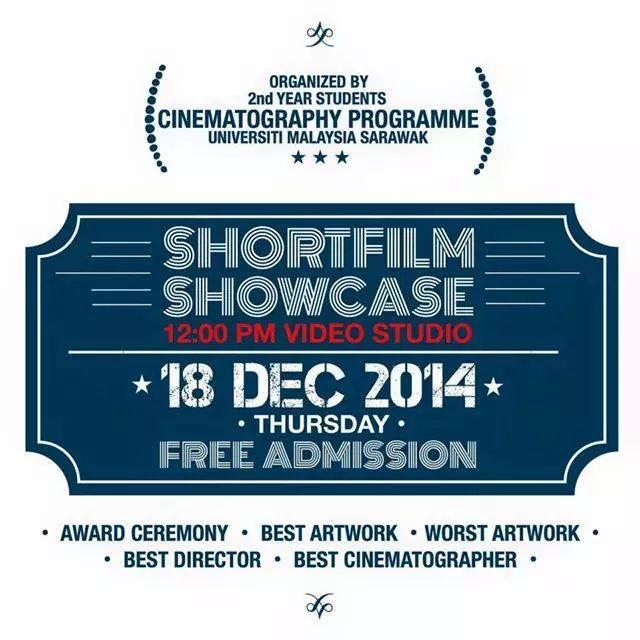 The short film was previewed and showcased in UNIMAS