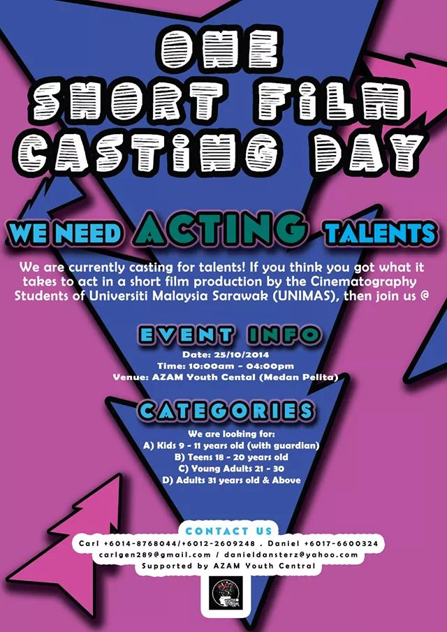 The Short Film Casting Day online poster